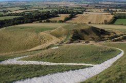 Dragon Hill and Uffington White Horse, White Horse Hill
