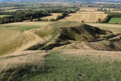 Dragon Hill, from White Horse Hill