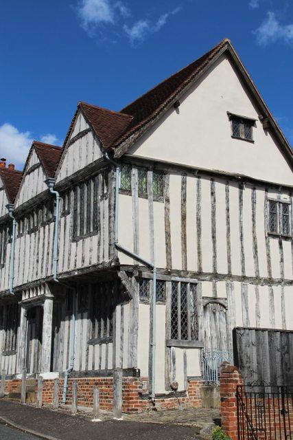 Shilling Grange, where Jane Taylor wrote, Twinkle, Twinkle, Little Star. Shilling Street, Lavenham