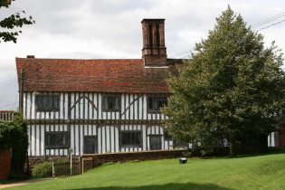 The Old Guildhall, from St. Mary's Churchyard, Stoke-by-Nayland