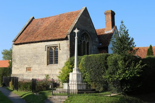 War Memorial and Champs Chapel, East Hendred