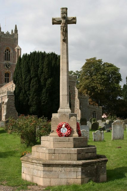 War Memorial, St. Mary's Churchyard, Stoke-by-Nayland