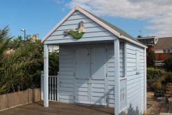 Ed's Dream, beach hut, Whitstable