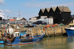 Fishing boat, Simon Issac, Whitstable Harbour, Whitstable
