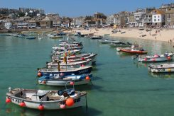 Fishing boats, Harbour, St. Ives