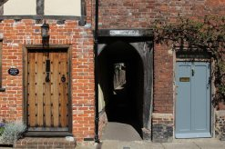 Holy Ghost Alley, St. Peter's Street, Sandwich