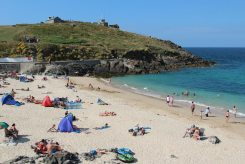 Porthgwidden Beach and The Island, St. Ives