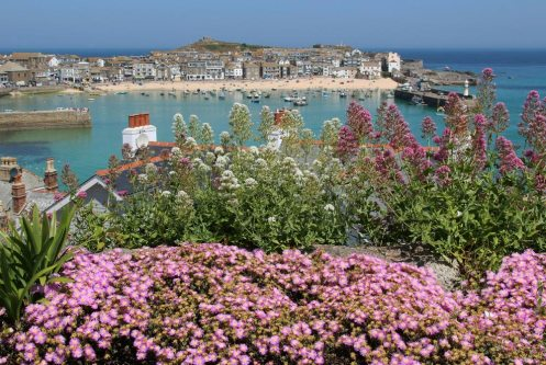 St. Ives, from Malakoff Gardens