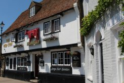 The Red Cow pub, Moat Sole, Sandwich