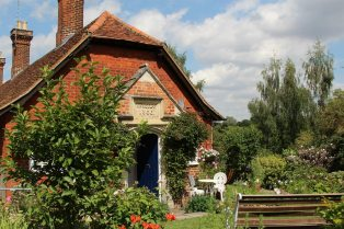 Garden, Almshouses, Much Hadham