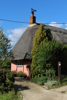 Thatched cottage, Botolph Claydon