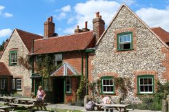 The Stag and Huntsman, Hambleden