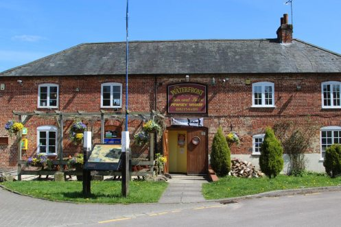 The Waterfront Pub, Kennet and Avon Canal, Pewsey Wharf