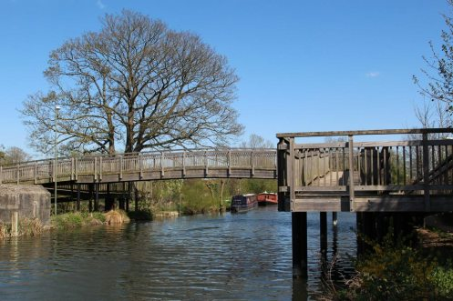 Northcroft Footbridge No. 63, Kennet and Avon Canal, Newbury