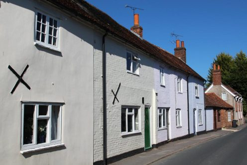Cottages, High Street, Kintbury