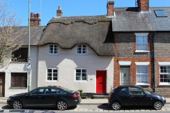 Thatched cottage, High Street, Hungerford