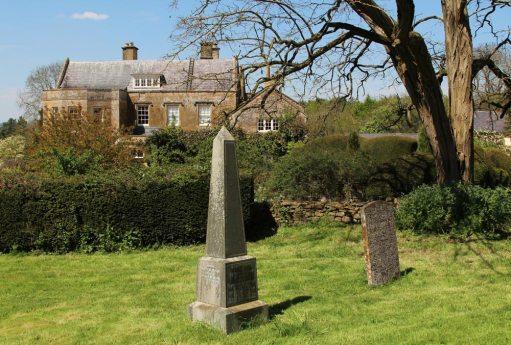 Adlestrop House and St. Mary Magdalene Churchyard, Adlestrop