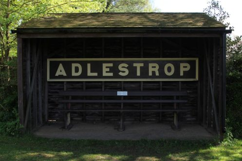 Bus shelter, Adlestrop