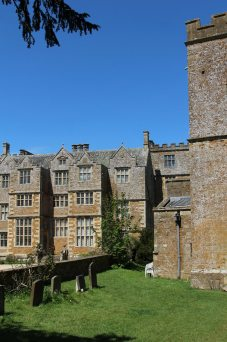 Chastleton House, from St. Mary's Churchyard, Chastleton