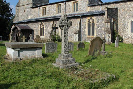 Grave of Bertram Mills, St. Giles Churchyard, Chalfont St. Giles