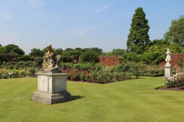 Rose Garden, Tiltyard, Hampton Court Palace