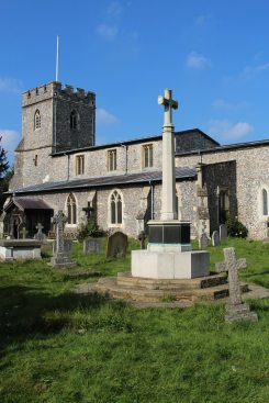 St. Giles Church and War Memorial, Chalfont St. Giles