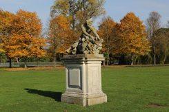 Statue, The Great Fountain Garden, Hampton Court Palace