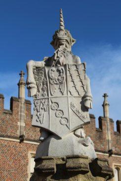 The Seymour Unicorn, The King's Beast, Hampton Court Palace