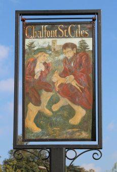 Village sign, Chalfont St. Giles