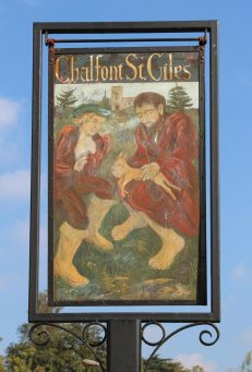 Village sign, Chalfont St. Giles