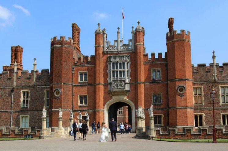 Wedding, Hampton Court Palace
