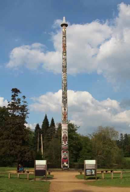 Totem Pole, Valley Gardens, Virginia Water