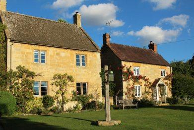 Honeystone Cottage, Jessamine Cottage and Stott Lantern, Stanton