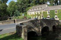 Swan Bridge and The Swan Hotel, Bibury