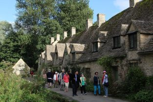 Tourists, Arlington Row, Bibury