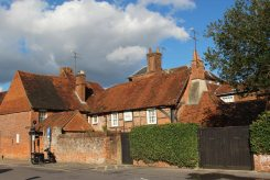 Dufty Cottage, from Waggon Yard Car Park, Farnham