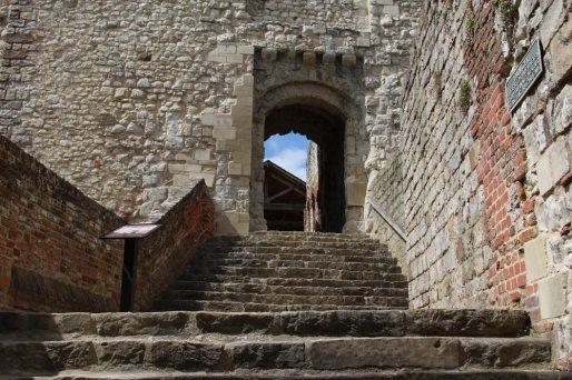 Gatehouse, entrance to The Keep, Farnham Castle, Farnham