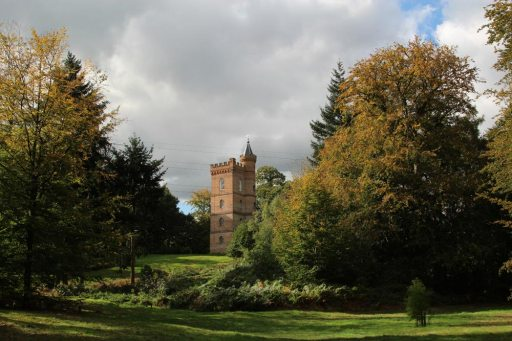 Gothic Tower, Painshill Park, Cobham