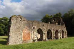 Lay Brothers' Refectory, Waverley Abbey, Farnham