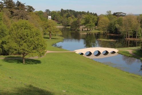 View from Turkish Tent, Painshill Park, Cobham