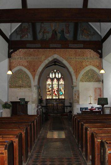 Nave, St. Nicholas Church, Steventon
