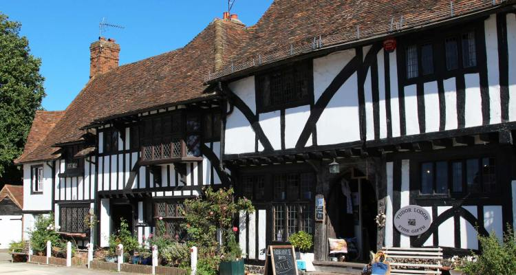 Tudor Cottage and Tudor Lodge Gift Shop, The Square, Chilham