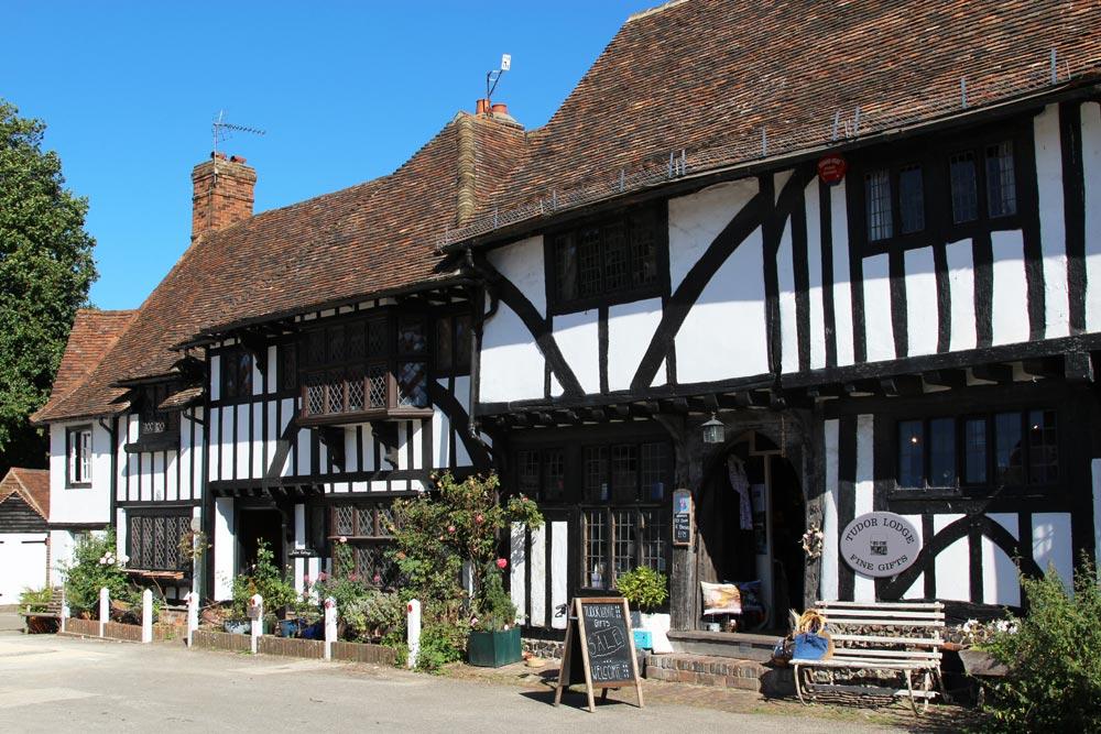Tudor Cottage and Tudor Lodge Gift Shop, The Square, Chilham