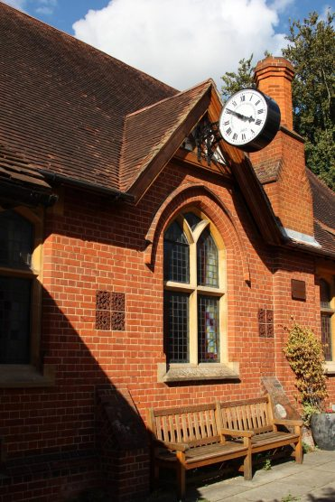 Clock on Parish Council Office, Sonning