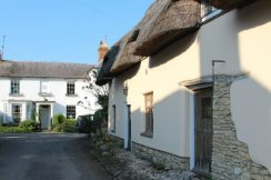 Thatched cottage and The Old Brewery, Haddenham