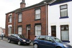 84 Portland Street, Hanley, Stoke-on-Trent (my father's birthplace)