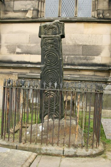 9th Century Cross, All Saints' Churchyard, Bakewell
