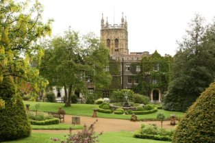 Abbey Hotel gardens, Great Malvern