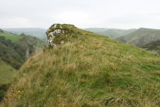 Above Thor's Cave, Manifold Valley, Peak District