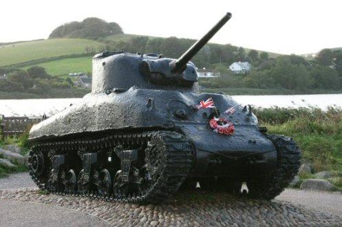 American Sherman D-Day Tank, Torcross